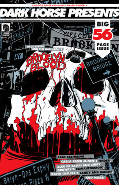 Cover of Dark Horse Presents #17