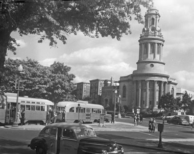 Image of 16 and Harvard Street NW from 1949