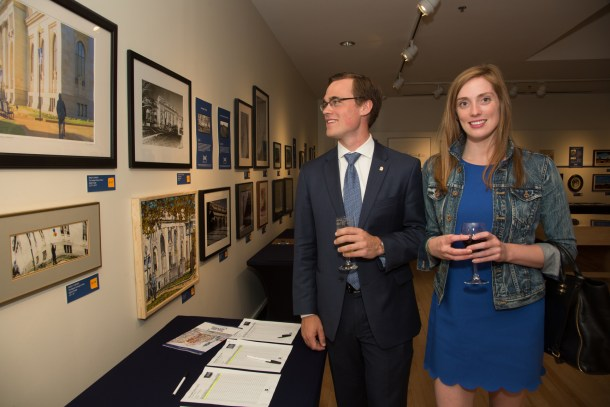 "The evening featured the closing of the auction of works of art from the ""For the Record"" exhibit, a fundraiser towards collections care."