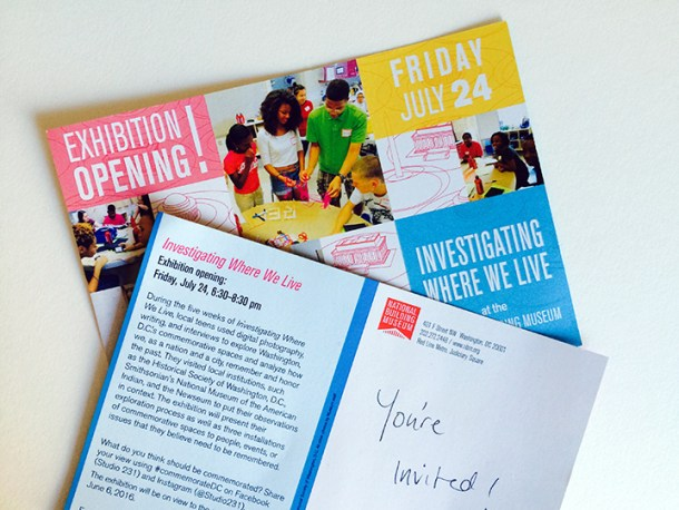 You're invited! The IWWL exhibit opening is July 24th, 6:30-8:30pm