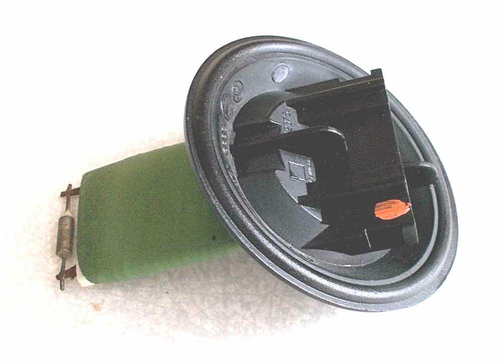 medium resolution of heater control ballast resistor assembly