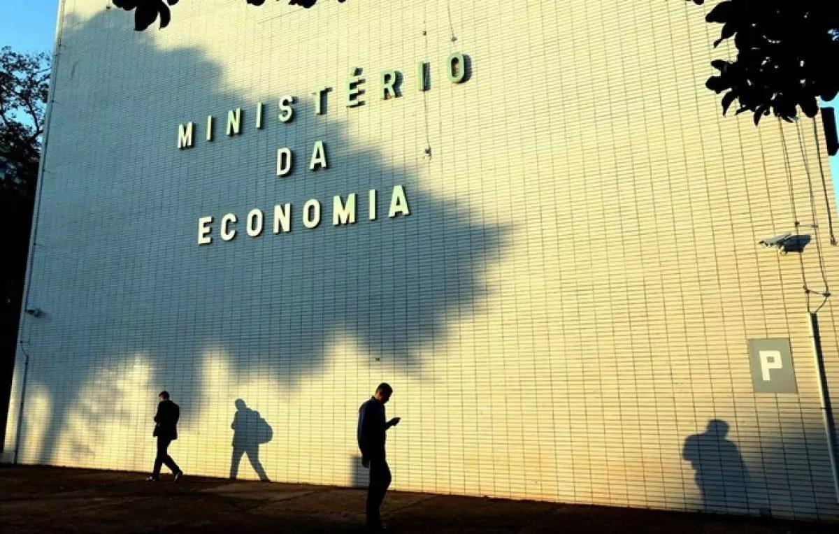 Imagem mostra prédio do ministério da economia