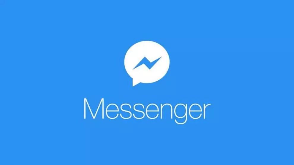 imagem mostra o logotipo do messenger