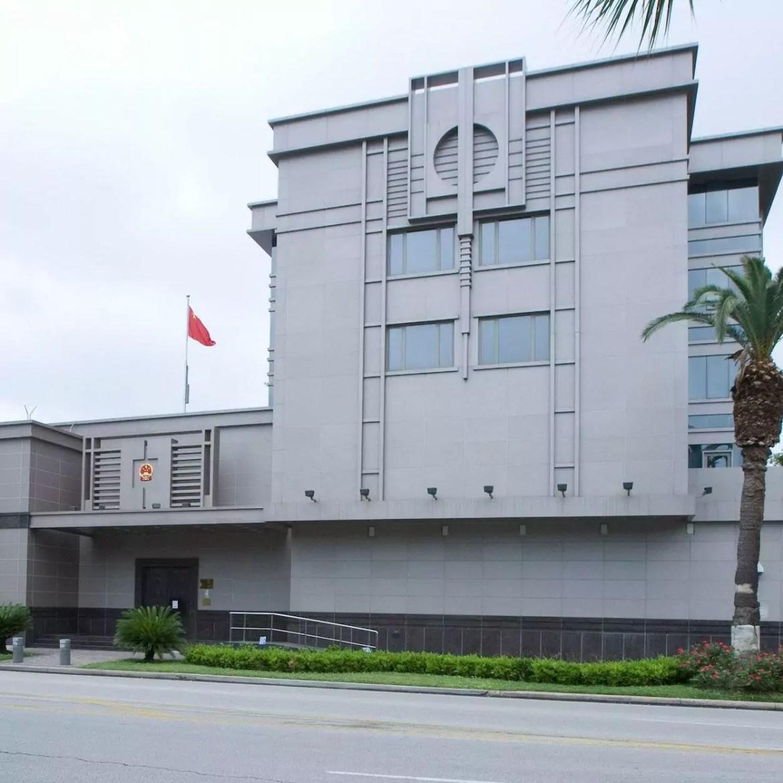 consulado chinês é fechado pelos EUA