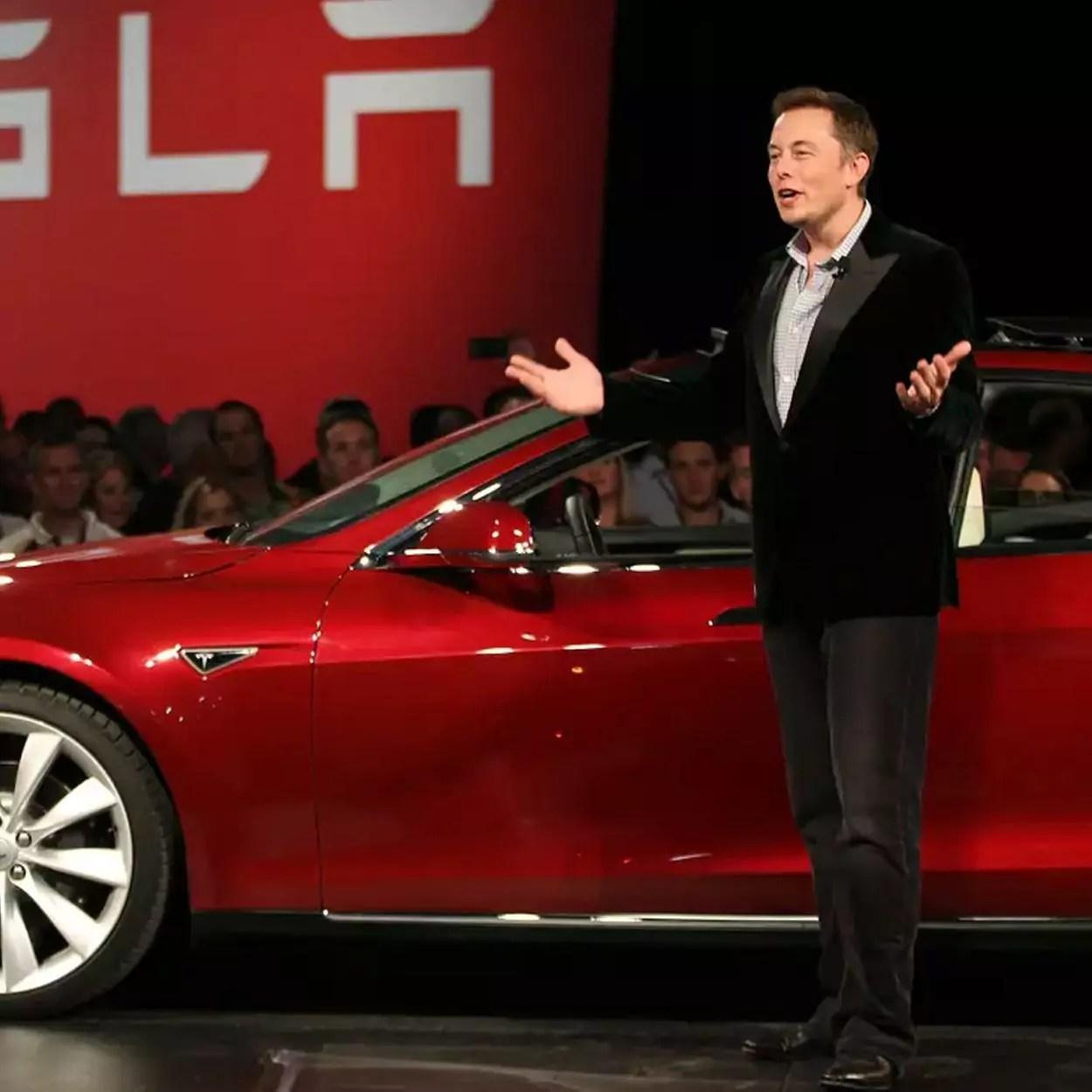 elon musk quer popularizar carros eletricos