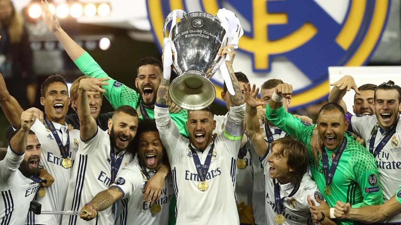 Real Madrid encabeça a lista dos maiores vencedores da Champions