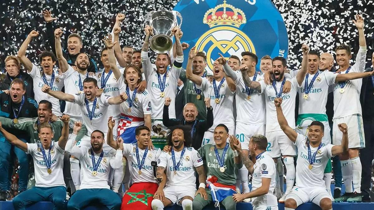 Real Madrid levanta mais uma taça da Liga dos Campeões