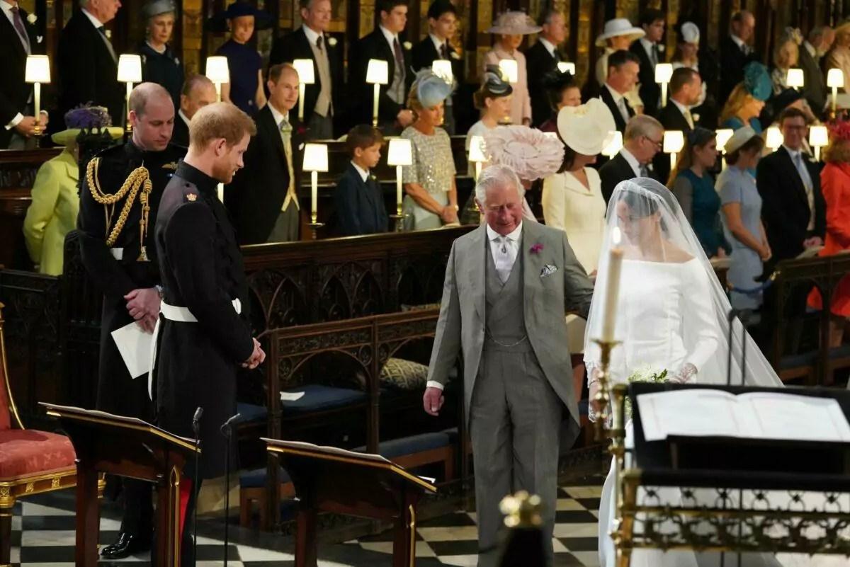 Príncipe Charles e Meghan Markle