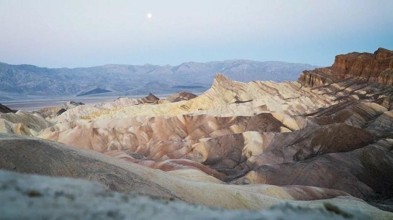 A temperatura mais alta da Terra no vale da morte