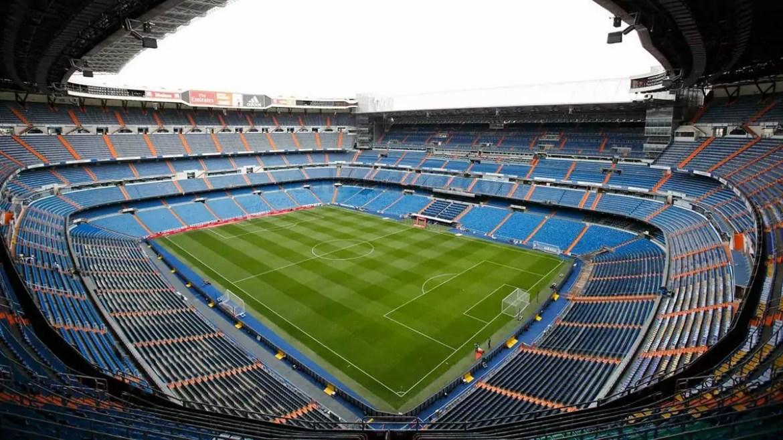Vista panorâmica do estádio Santiago Bernabeu