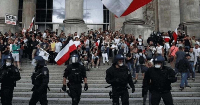 protestos anti-corona
