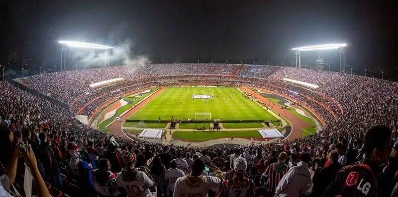 Estádio do Morumbi atualmente é o terceiro maior do Brasil