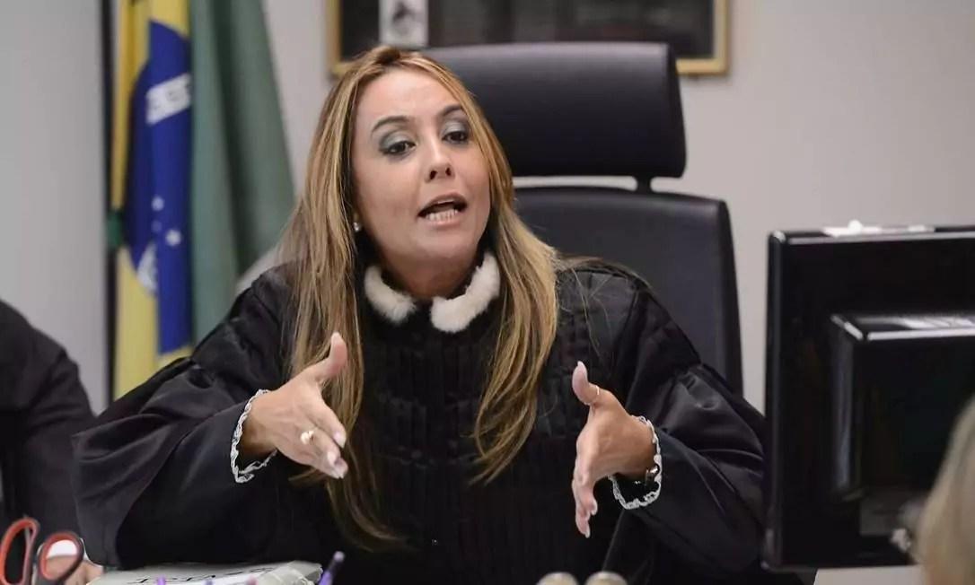 Foto mostra candidata a prefeitura do Rio de Janeiro