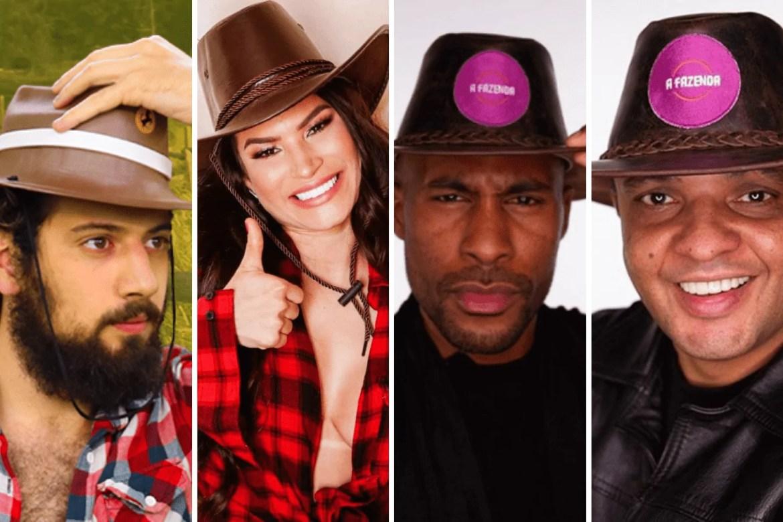 Enquete A Fazenda 12: Cartolouco, Raissa, Beatbox ou Rodrigo