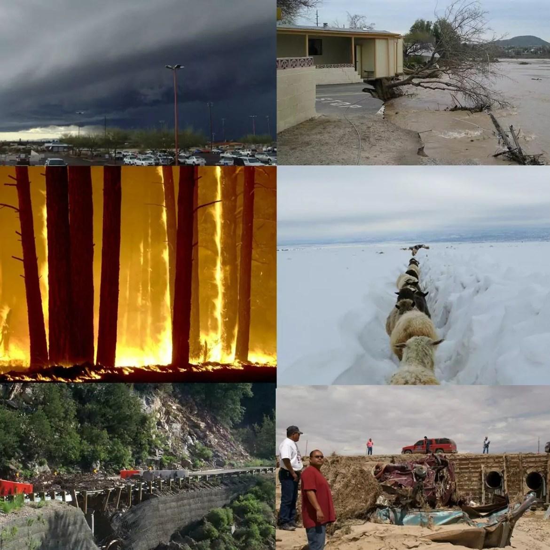 Desastre climatico o que é