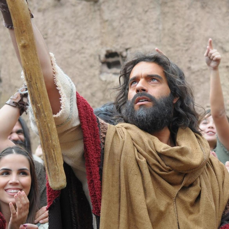 Pragas do Egito na novela Os Dez Mandamentos