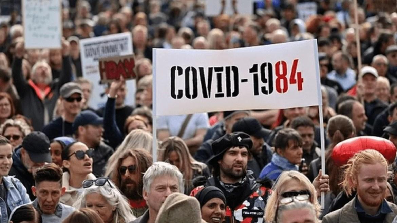 protestos contra restrições do coronavírus