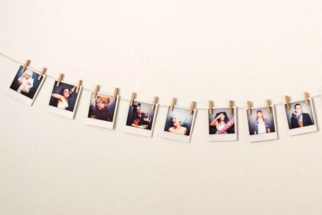 fotos na decoração