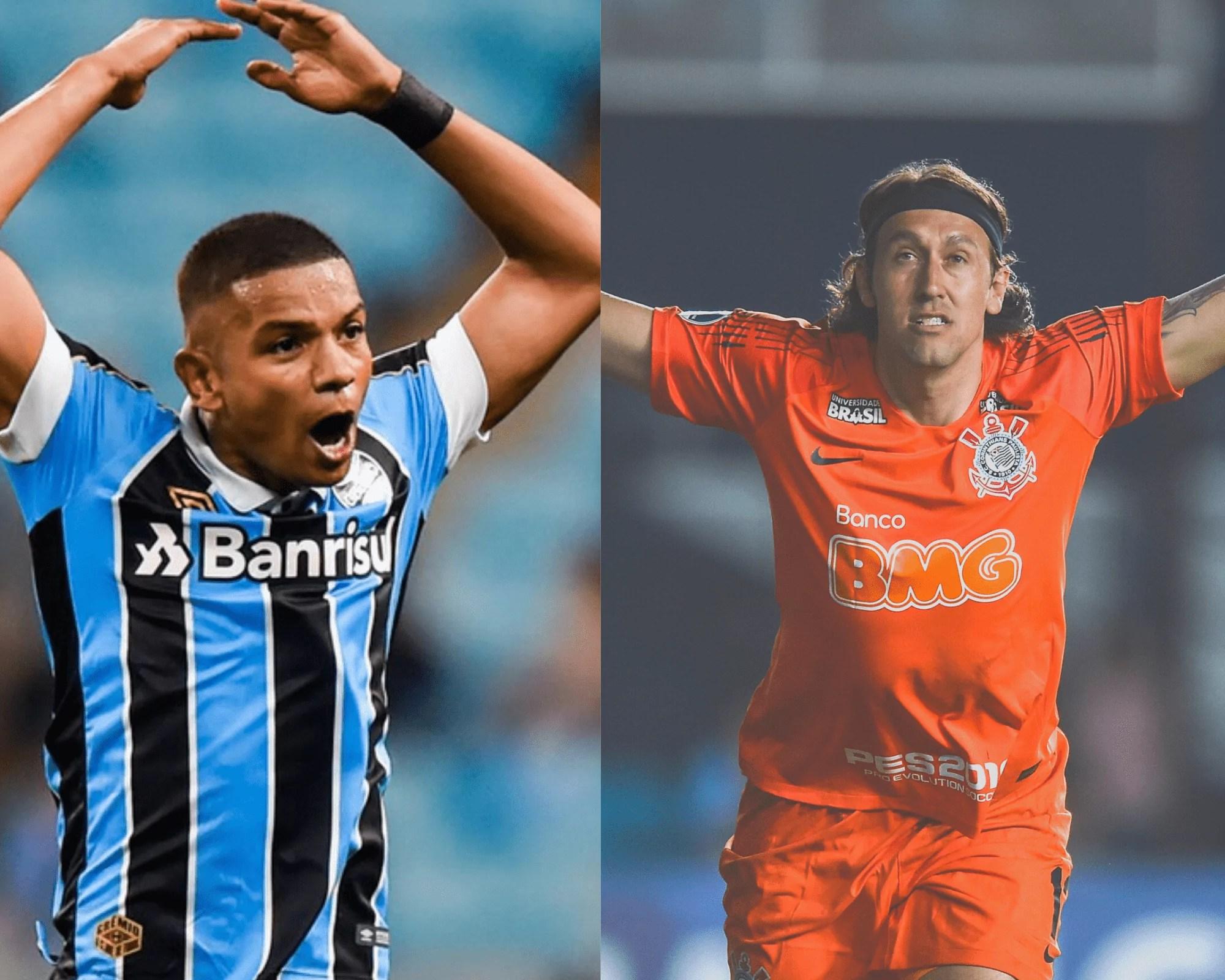 Imagem mostra os jogadores suspensos do Cartola fc 2020