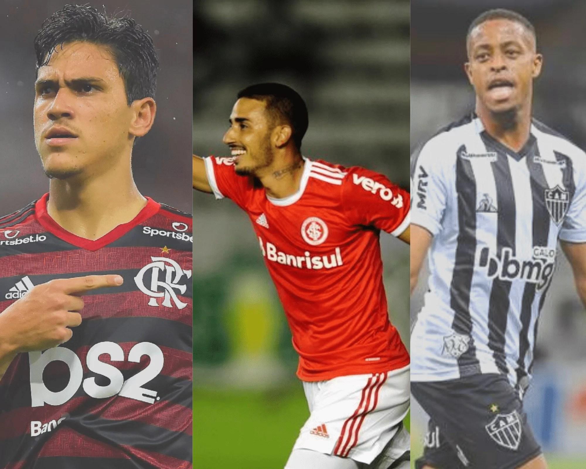 Imagem mostra jogadores mais escalados no Dicas Cartola FC