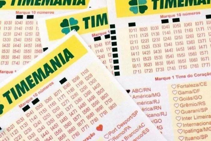Concurso 1555 da Timemania vai acontecer nesta terça-feira (27)