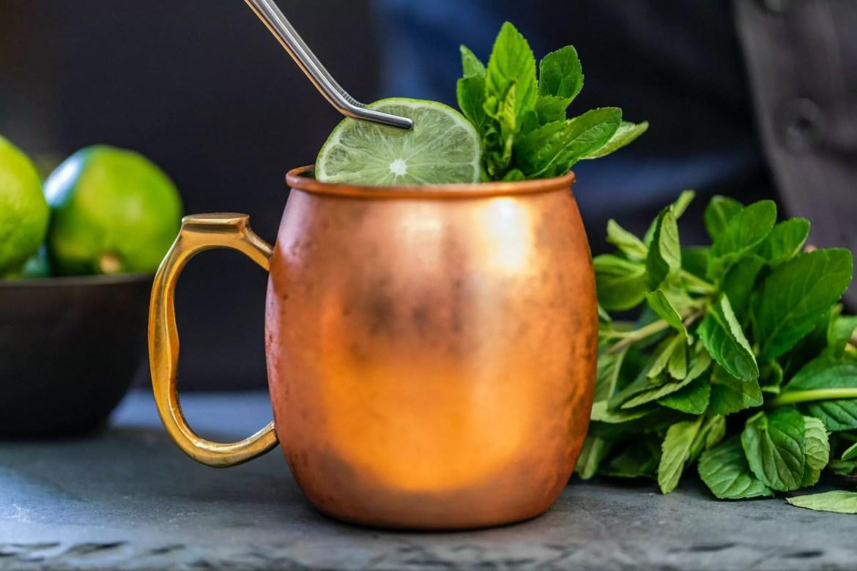 Receita de gin gin mule