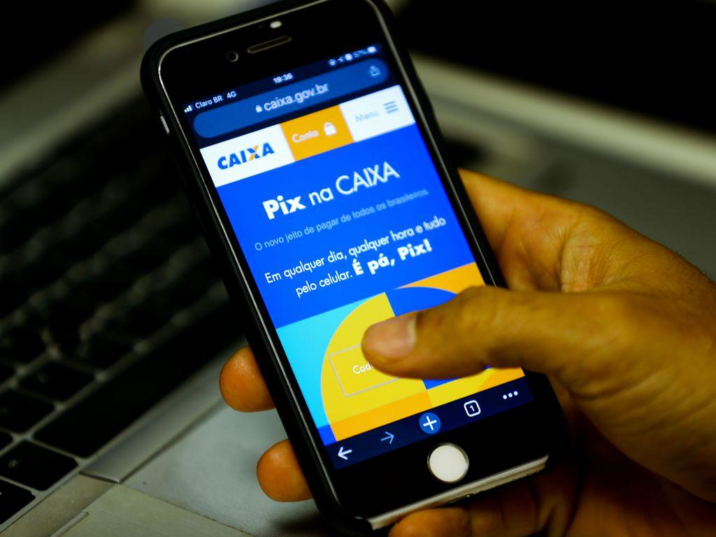 Pix começa a operar em fase de testes dia 3 de novembro. Foto: Marcello Casal Jr/Agência Brasil