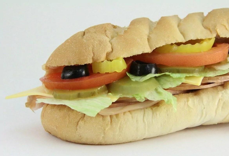 pão do sanduíche do Subway