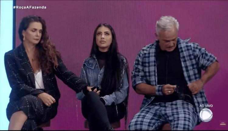 Luiza, Mirella e Mateus estão na sexta roça de A Fazenda 2020