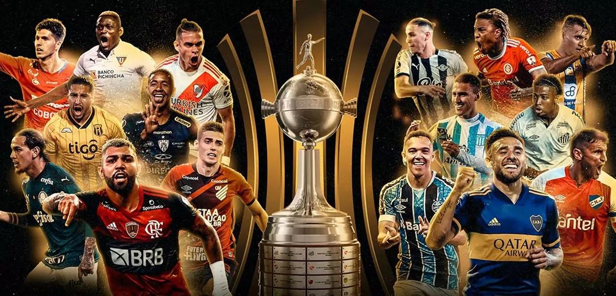 Destaques do sorteio da Libertadores 2020