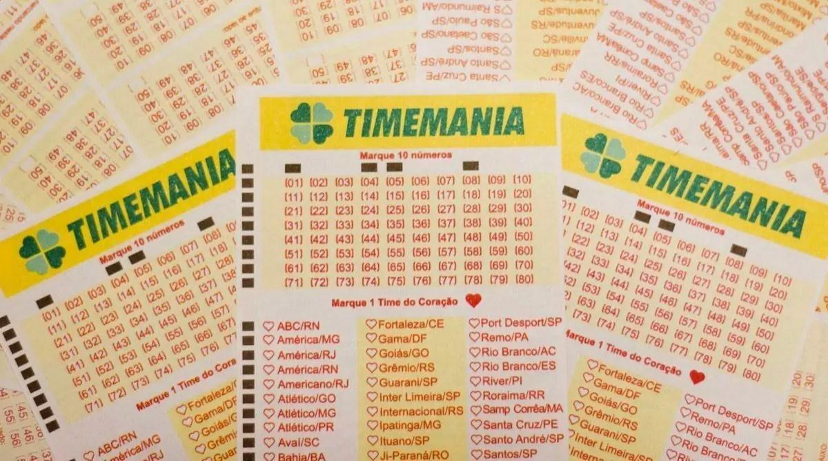 Timemania concurso 1545