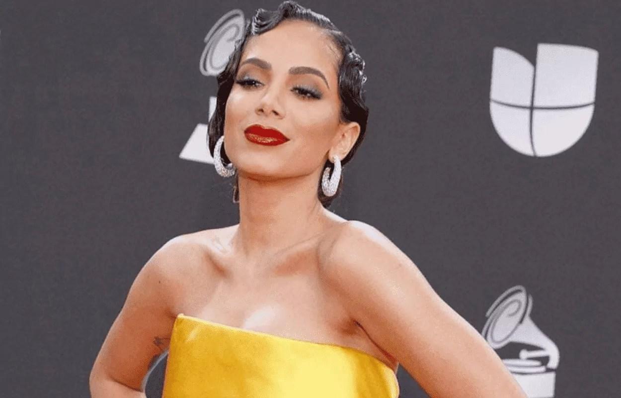 Imagem mostra cantora Anitta