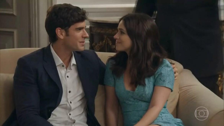 Shirlei (Sabrina Petraglia) e Felipe (Marcos Pitombo)