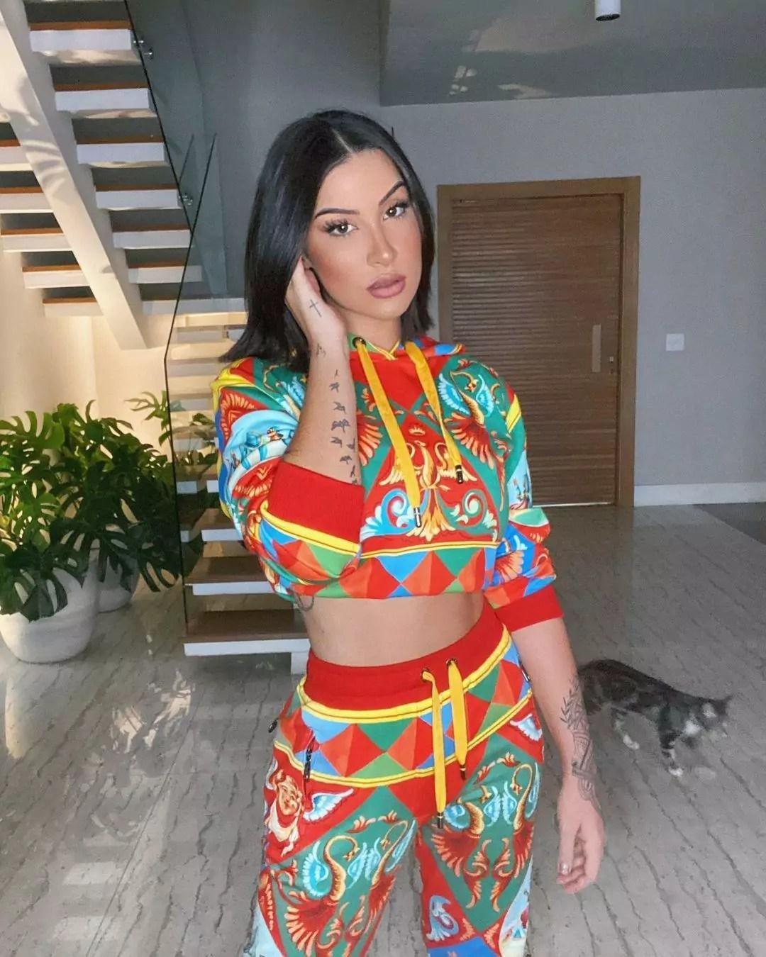 Na imagem a ex-BBB Bianca Andrade