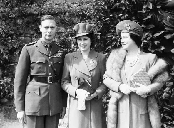 rainha e pais