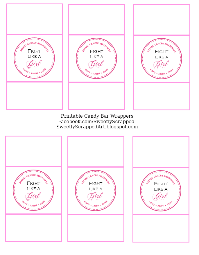 free template for candy bar wrappers