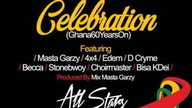 Photo of StoneBwoy x Edem x Becca x Bisa Kdei x 4×4 x D-Cryme x Choir Master – Celebration (Gh 60 Years On) (Prod By Mix Masta Garzy)