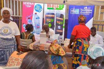 WatsUp TV Screens Nungua Market Women 1 - WatsUp TV Screens Nungua Market Women Ahead Of 3rd Anniversary.