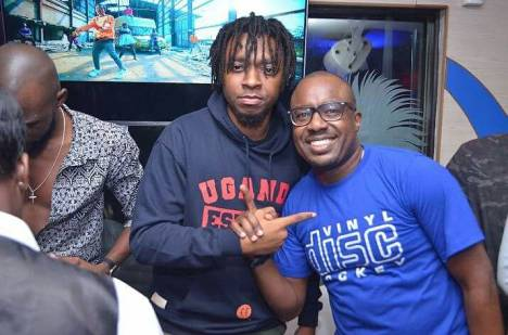 Magnom Snap Off 1 - Photos : Magnom & DJ Lord's Sold Out Concert In Uganda