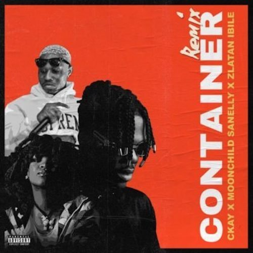 C Kay Container Remix cover art - Ckay ft. Moonchild Sanelly & Zlatan - Container (Remix)