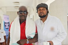 Dr. Knii Lante 2 - Knii Lante collaborates with MUSIGA to give back to aged musicians
