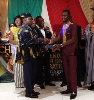 IMG 20190310 WA0004 e1552319301563 - Mr. Musah Trawill (Mr. Candy Ghana) Wins 2 Awards Within 3 Months Duration In Chicago , USA
