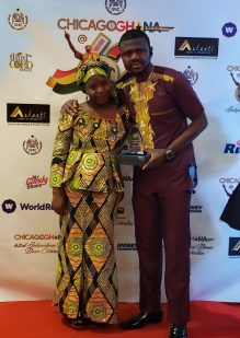 iya 4 scaled - Mr. Musah Trawill (Mr. Candy Ghana) Wins 2 Awards Within 3 Months Duration In Chicago , USA