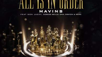 Photo of Mavins ft. Don Jazzy, Rema, Korede Bello, DNA & Crayon – All Is In Order