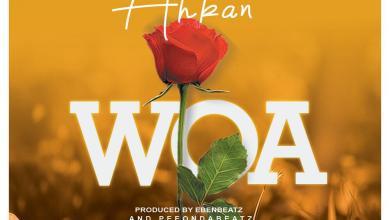 Photo of Ahkan – Woa (Prod. by Ebenbeatz & PeeGh)