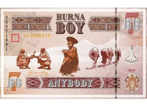 Burna Boy 1 anybody 500x359 - Burna Boy -  Anybody
