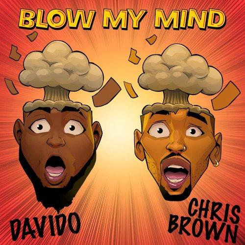 davido chris brown cover 500x500 - Davido ft. Chris Brown - Blow My Mind