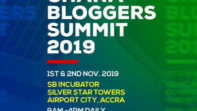 Photo of 2019 Ghana Bloggers Summit scheduled for 1st & 2nd November
