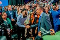 Patoranking Perforance stage youth 5 - Photos: Worldbest Patoranking, thrills at Youth Connekt Africa Summit In Rwanda