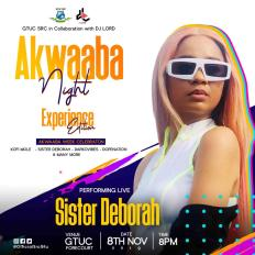 PHOTO 2019 11 02 22 29 03 - DJ Lord Partners With GTUC S.R.C. For This Year's Akwaaba Night (Experience Edition)
